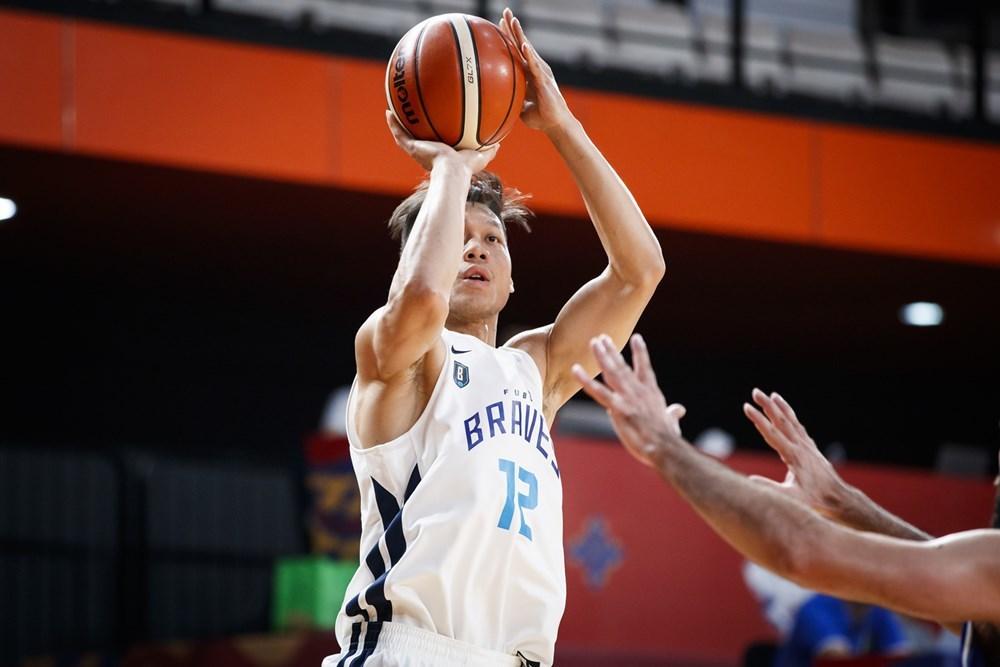 林志傑投進四顆三分球拿下14分。圖/取自FIBA官網