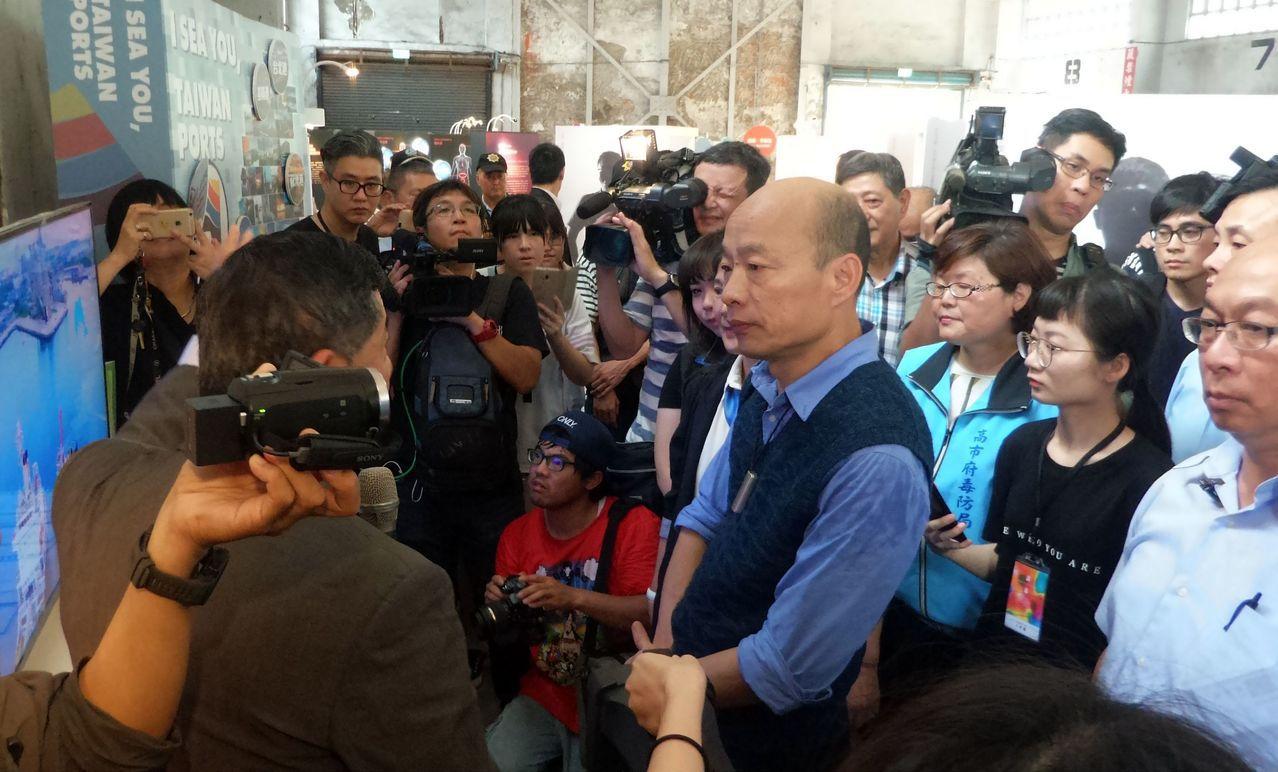 破除假日不關心市政傳言 韓國瑜訂周末參加反毒大會師