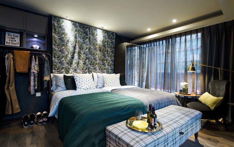 IKEA pop-up hotel快閃旅店「同性伴侶」房採用兩張併在一起的單人床...