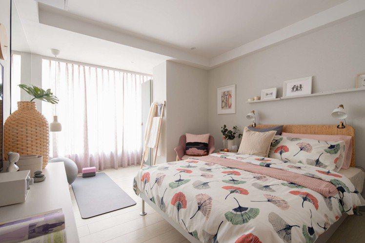 IKEA pop-up hotel快閃旅店「風格女」房也是熱門房型之一。圖/IK...