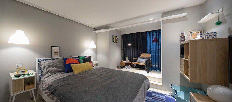IKEA pop-up hotel快閃旅店「寵物飼主」房選用好清洗、耐抓的家具家...