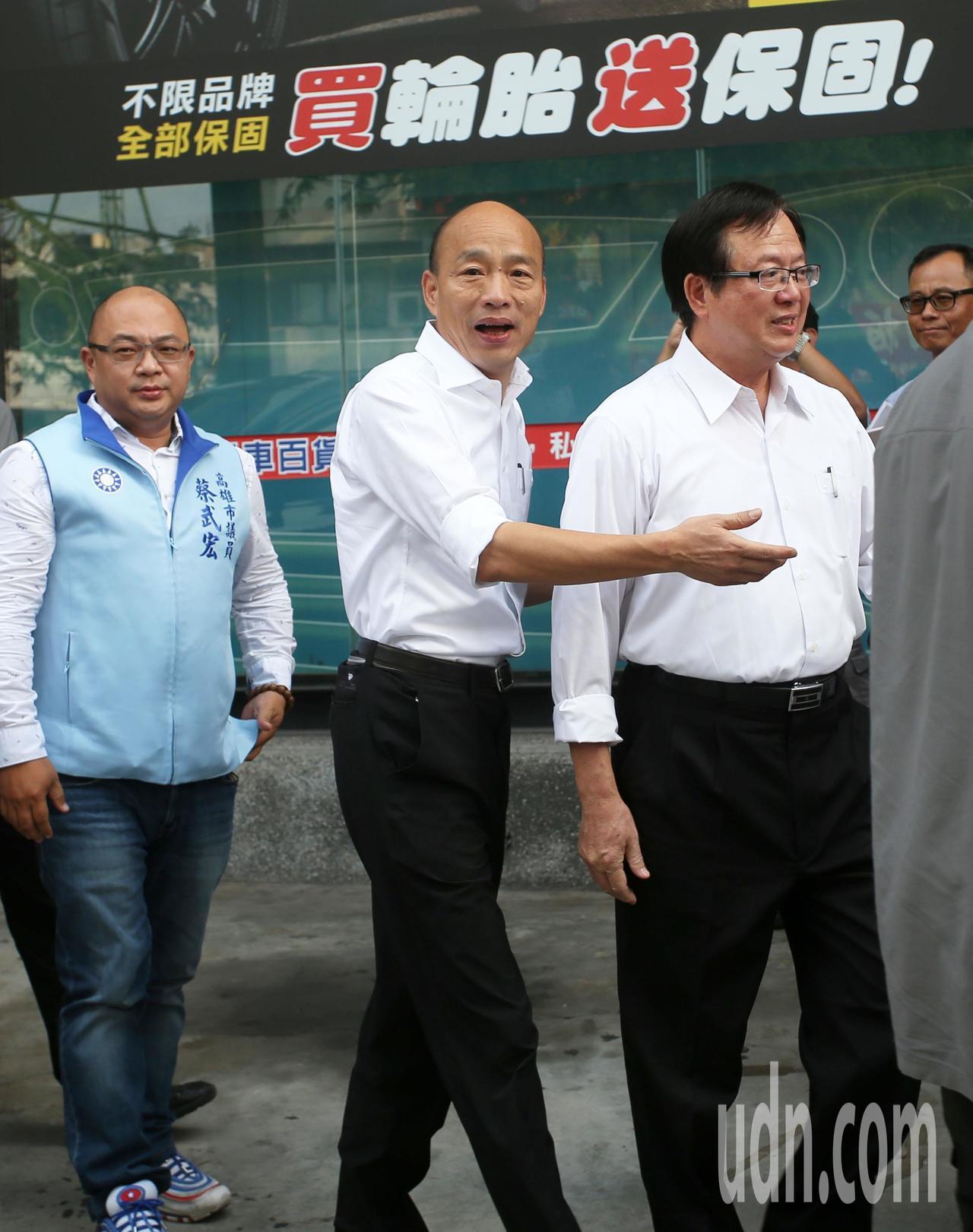 影/韓國瑜展現施政亮點 綠營批政令宣導