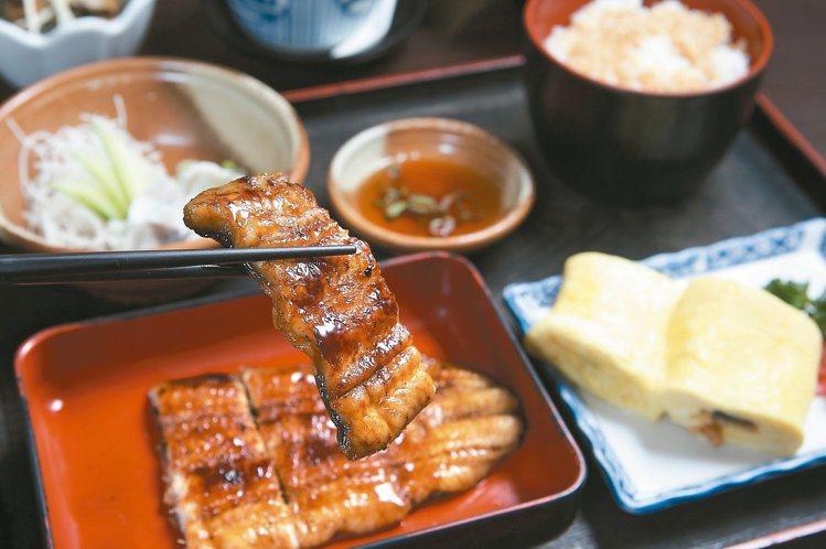 京都屋提供有多種鰻魚料理,為台北代表性名店之一。圖/報系資料照