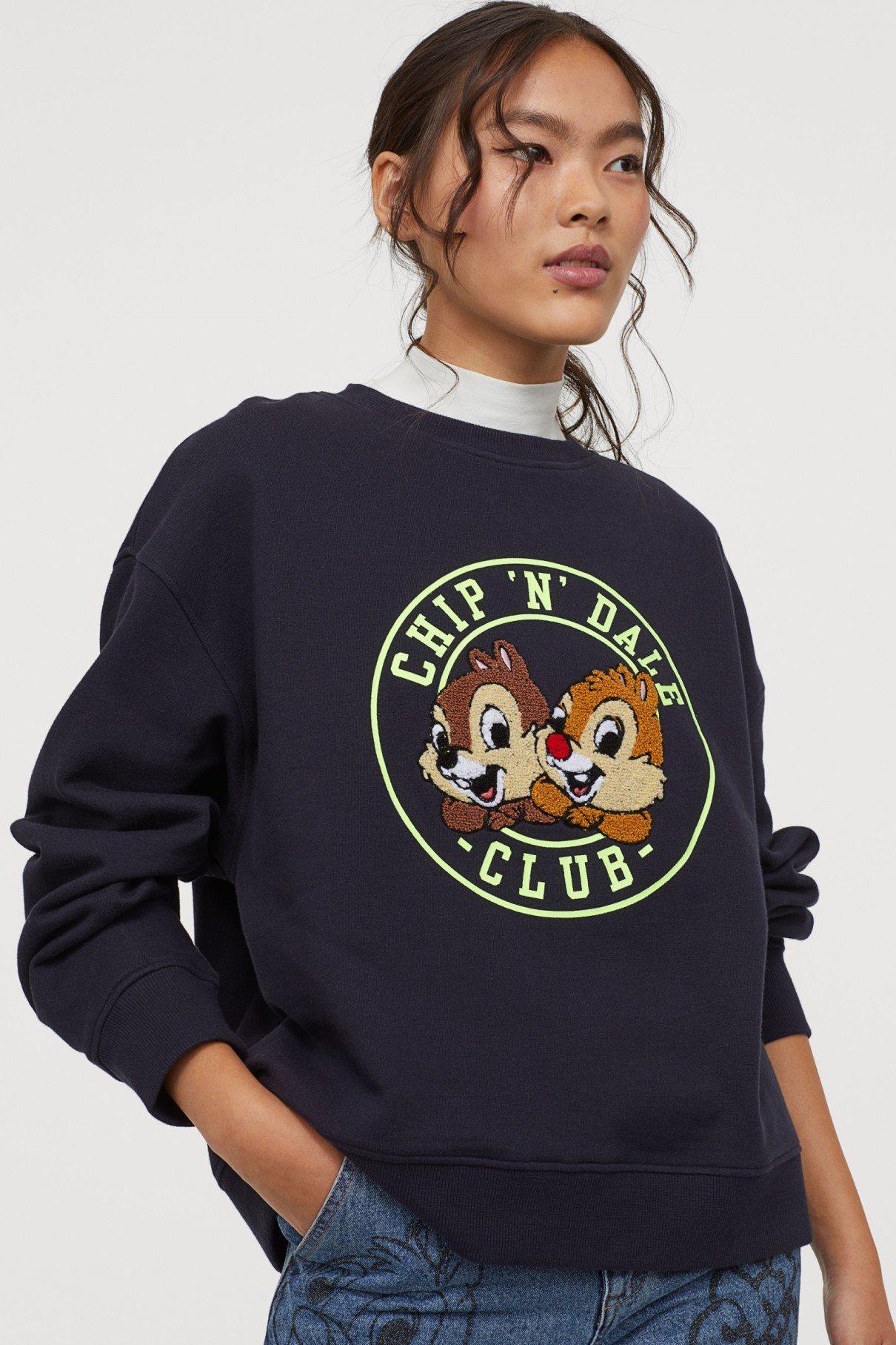 H&M今年秋冬與「CHIP'N' DALE」合作推出時尚女裝系列。圖/H&M提供