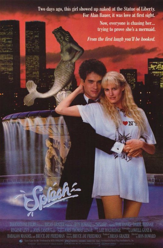 「美人魚」美國賣座開紅盤,湯姆漢克斯一舉成名。圖/摘自imdb