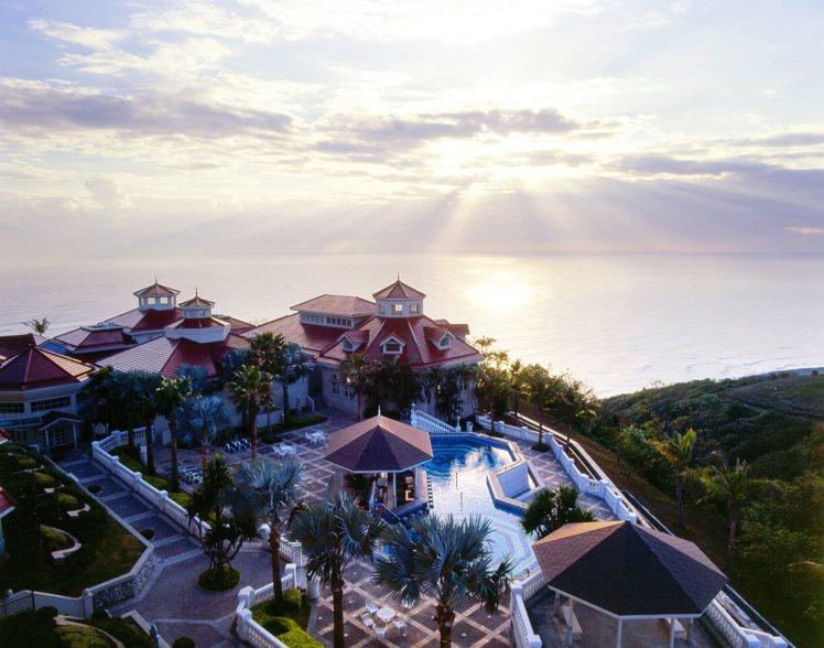 花蓮遠雄悅來大飯店擁有絕美海景。圖/宜蘭力麗威斯汀提供