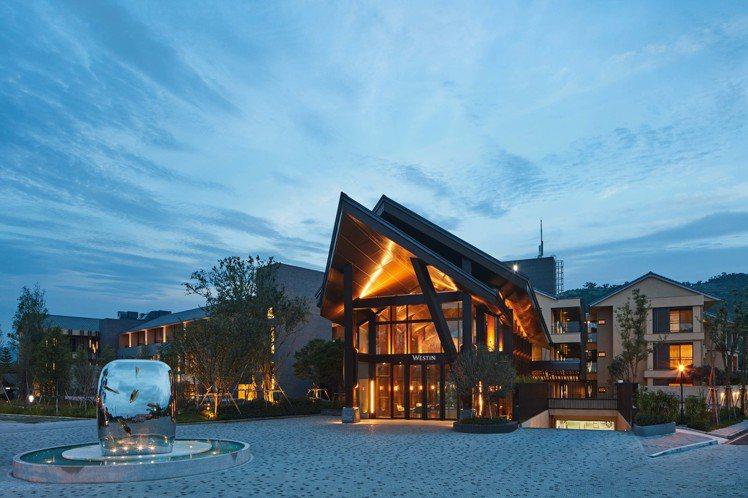 宜蘭力麗威斯汀度假酒店可選擇入住豪華或精選客房。圖/宜蘭力麗威斯汀提供