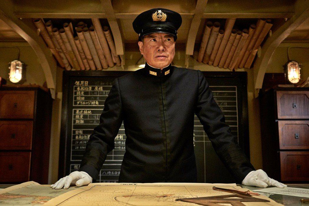 豐川悅司在「決戰中途島」扮演山本五十六。圖/双喜提供