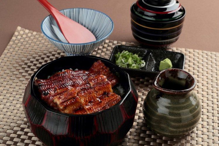 鰻魚飯三吃,每份580元。圖/江戶川提供