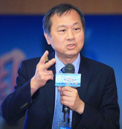 台中榮總院長許惠恒以「大數據時代下的糖尿病管理」為題發表演說。 記者潘俊宏/攝影