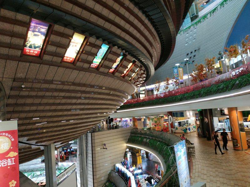 京華城昨天成功標脫。圖/聯合報系資料照片