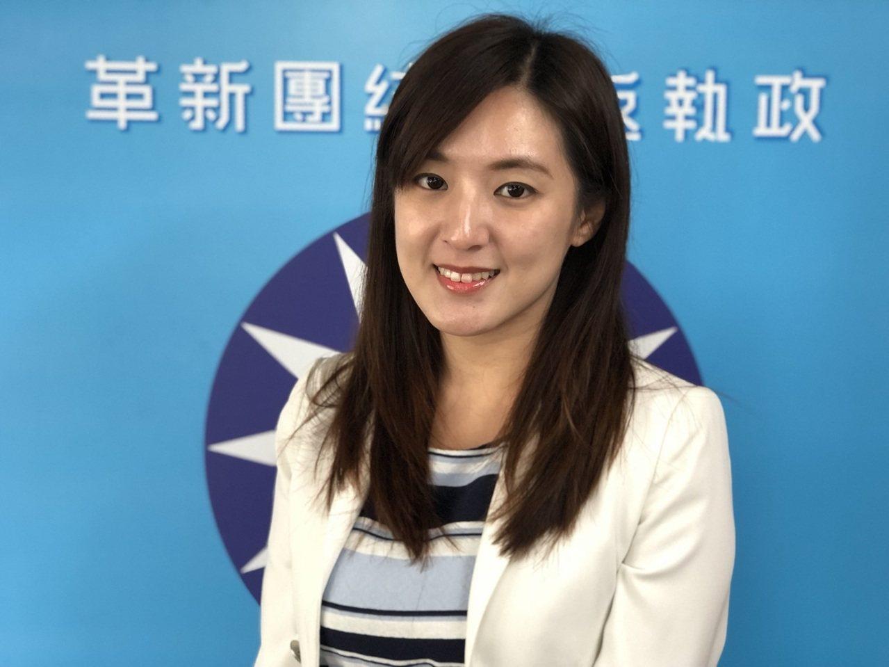 韓國瑜競選辦公室發言人何庭歡。記者王慧瑛/攝影