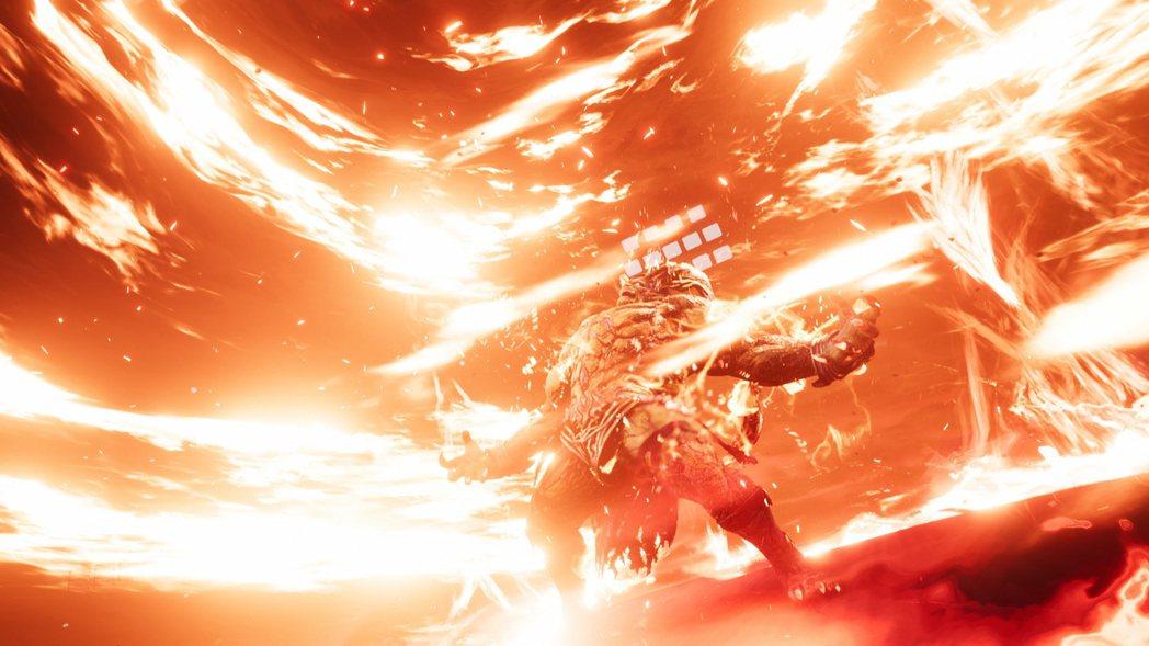 伊弗利特的絕招「地獄火焰」