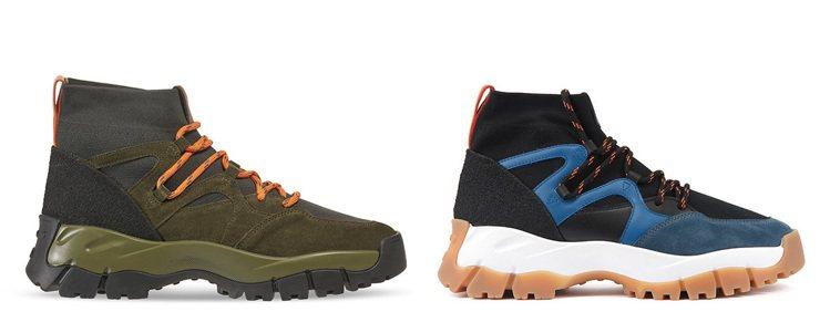 TOD'S異材質撞色細節短靴。 圖/TOD'S 提供