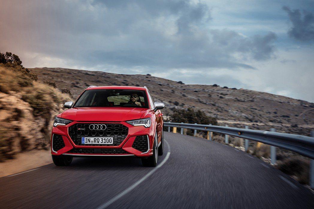 全新Audi RS Q3。 摘自Audi