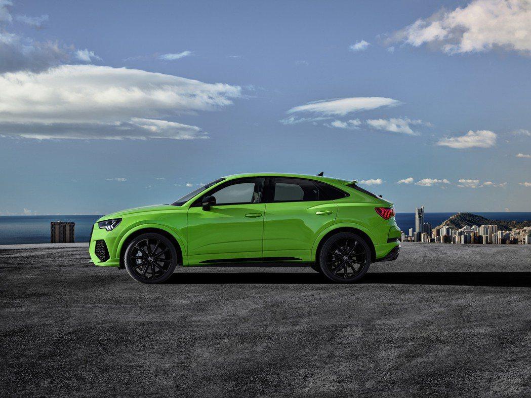 全新Audi RS Q3 Sportback。 摘自Audi