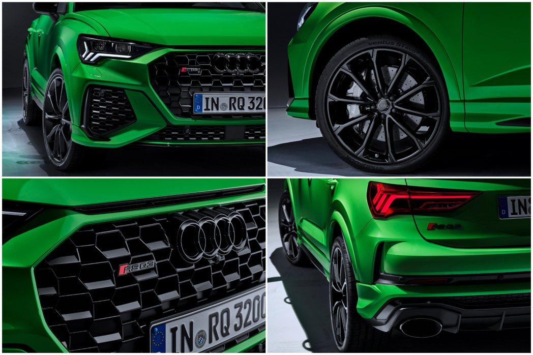 全新Audi RS Q3 Sportback 外觀特色,值得注意的是,相較於RS...