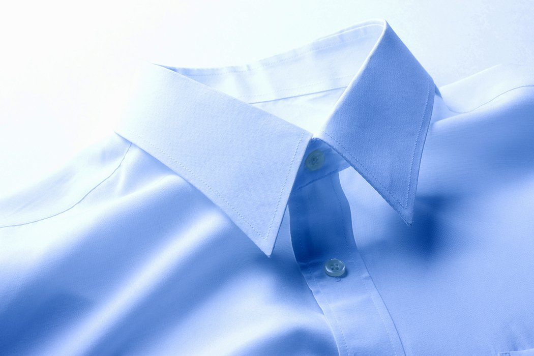 免燙、防皺的襯衫、褲子製程中都有使用化學物質,有些可能含有甲醛,應特別注意。 圖...
