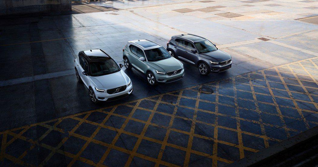 Volvo XC40即將推出純電版本。 摘自Volvo