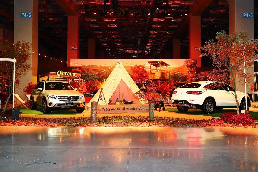 全新賓士SUV陣容在台亮相,包括小改款GLC/GLC Coupe、全新第三代GL...