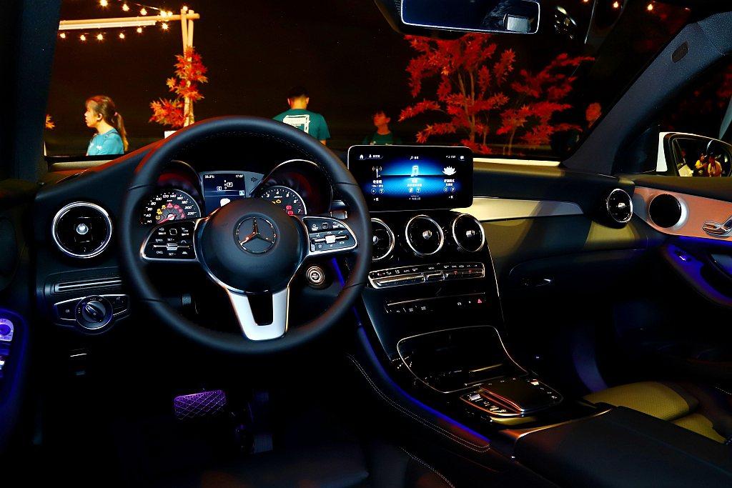 小改款賓士GLC/GLC Coupe跟進搭載Mercedes me connec...