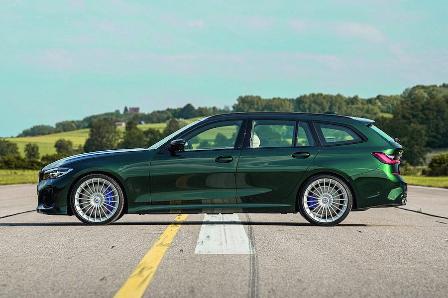 Alpina B3 Touring法蘭克福車展發表 幫BMW M3補了個位子