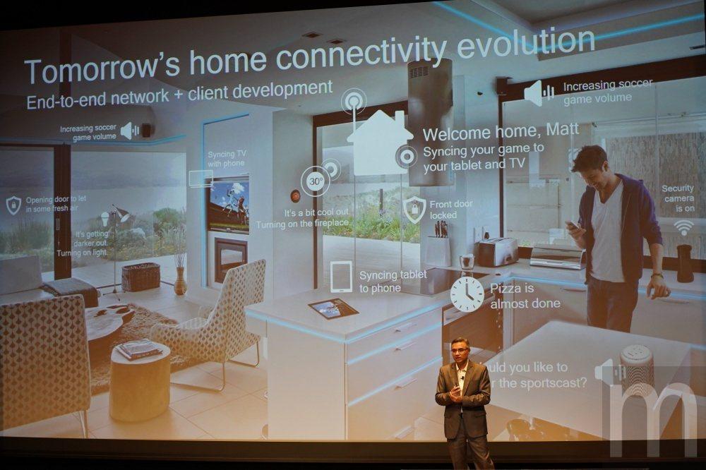 未來使用者在家可能不會僅透過手機上網,而是諸多裝置都能連接上網,並且能以更快速、...