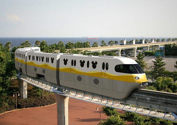 東京迪士尼度假區將於2020年啟用全新的單軌列車。圖/擷取自東京迪士尼度假區官網
