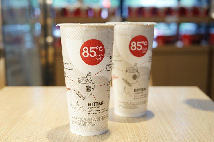 10/1(二)世界咖啡日,85˚C推出優惠活動。圖/85˚C提供