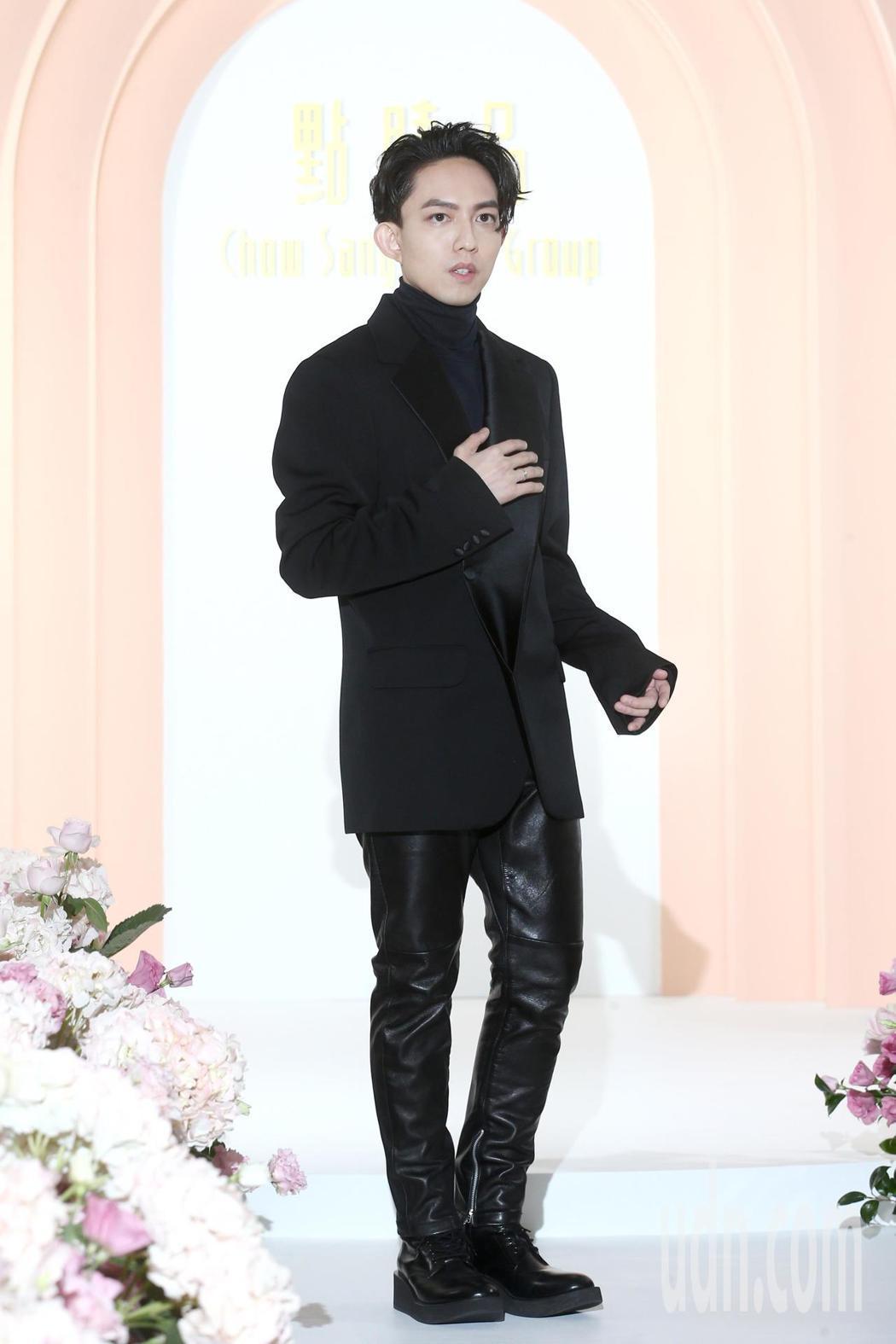 林宥嘉出席精品代言宣布老婆丁文琪第二胎懷女兒。記者蘇健忠/攝影