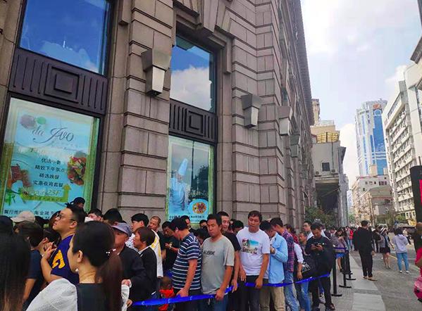 今日中午,麥吉machi machi在上海外灘中山東二路12號開業。從昨晚開始就...