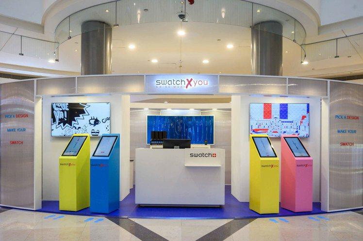 今年SWATCH再進化,於台北101打造亞洲第一間概念快閃店,帶來升級版的客製化...