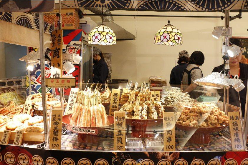 青森海鮮食堂炸物店。圖/新光三越提供