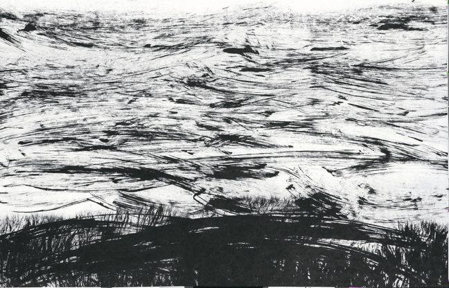 李安成,無題山水。 圖/誠品畫廊提供