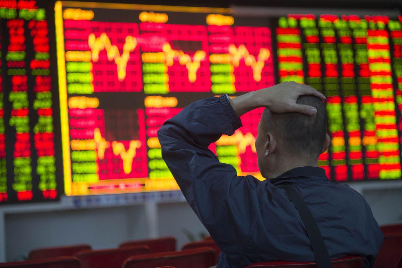 美擬限制政府基金投資陸股 「十一」後首個交易日,在岸人民幣匯率由升轉貶。中新社