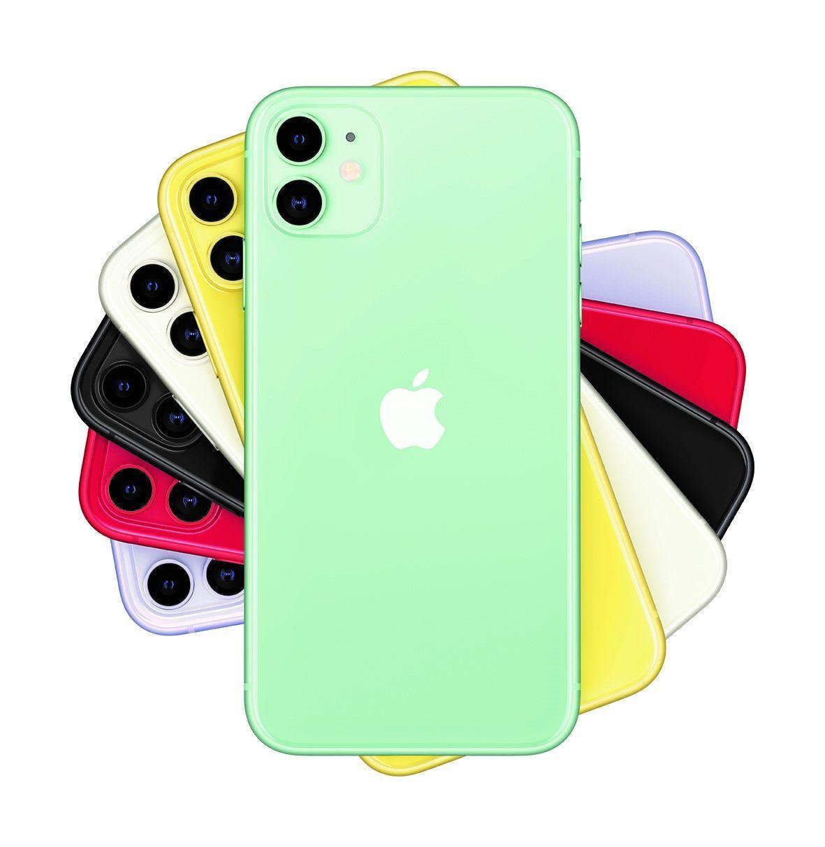 燦坤Iphone銷售最新訊息,受歡迎的顏色為夜幕綠色。圖/燦坤提供