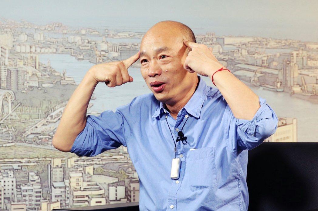 「韓總說:『國家安全、人民有錢』。剛剛會前,馮教授告訴我,南北韓一緊張,南韓生育...