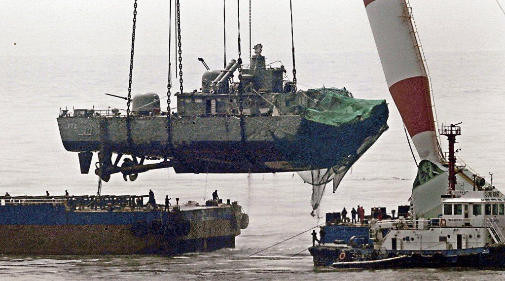 2010年3月底爆發「南韓天安艦遭北韓魚雷擊沉事件」,造成46名士兵死亡、58人...