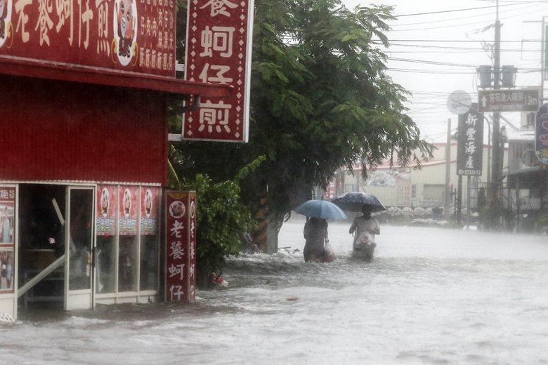 圖為2018年823水災。 圖/聯合報系資料照