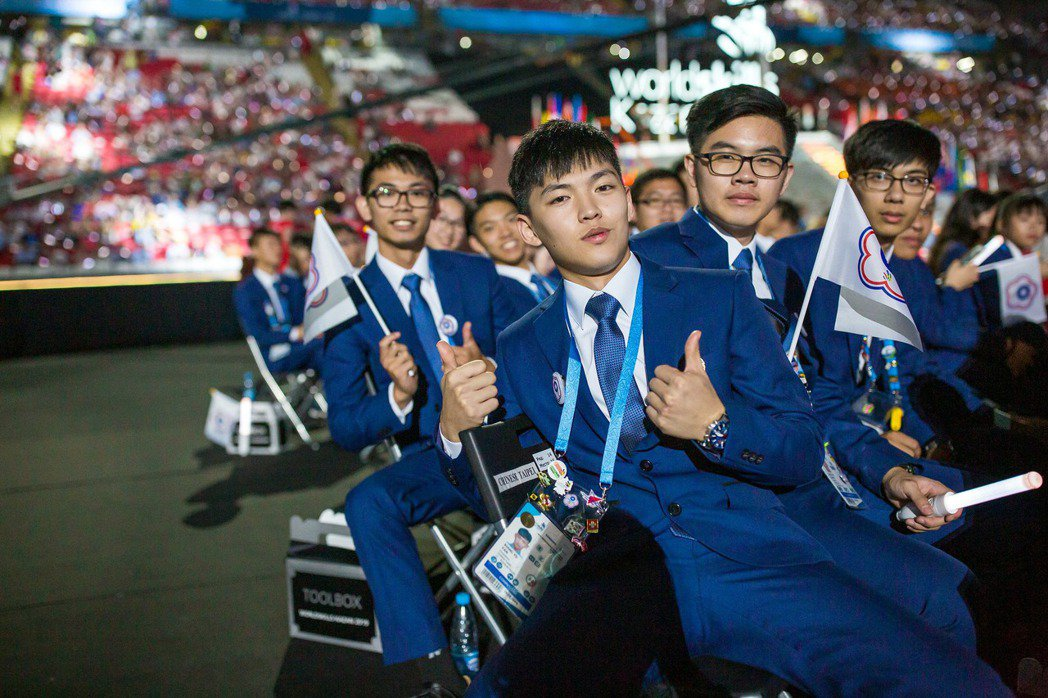 圖為俄羅斯國際技能競賽台灣代表。 圖/黃偉翔、WorldSkills提供