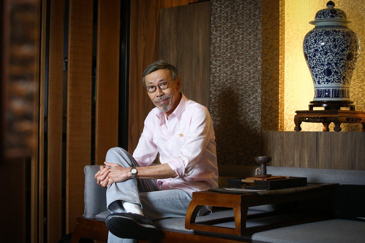 橘世代專訪港星馮淬帆。 圖/王騰毅攝影