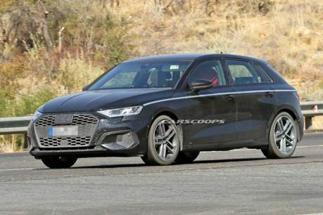大改款Audi A3無偽裝測試現身 預計2020日內瓦車展發表