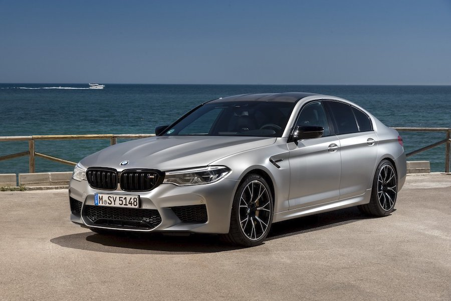 BMW M5 Competition。 BMW提供