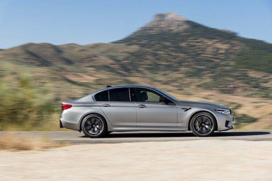 BMW M5 Competition。 BMW提供