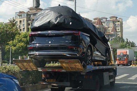 2020 Volkswagen Viloran大型MPV測試捕獲 中國市場專屬
