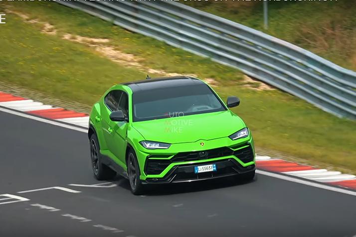 影/神秘Lamborghini Urus現身紐柏林!新油電動力還是高性能版?