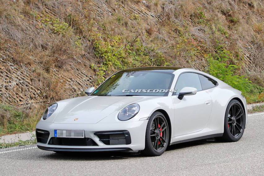 2020 Porsche 911 GTS測試現蹤 無偽裝令人大飽眼福