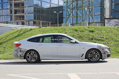 小改款BMW 6-Series Gran Turismo測試現身 流線美背風格依舊!!