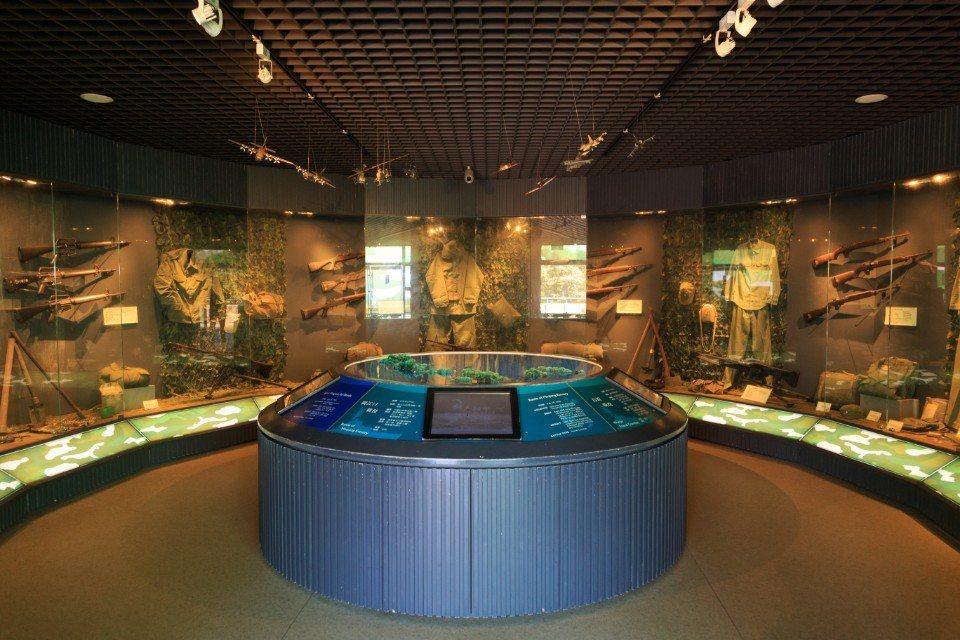 連江北竿的「戰爭和平紀念公園」。(圖片提供/欣傳媒)