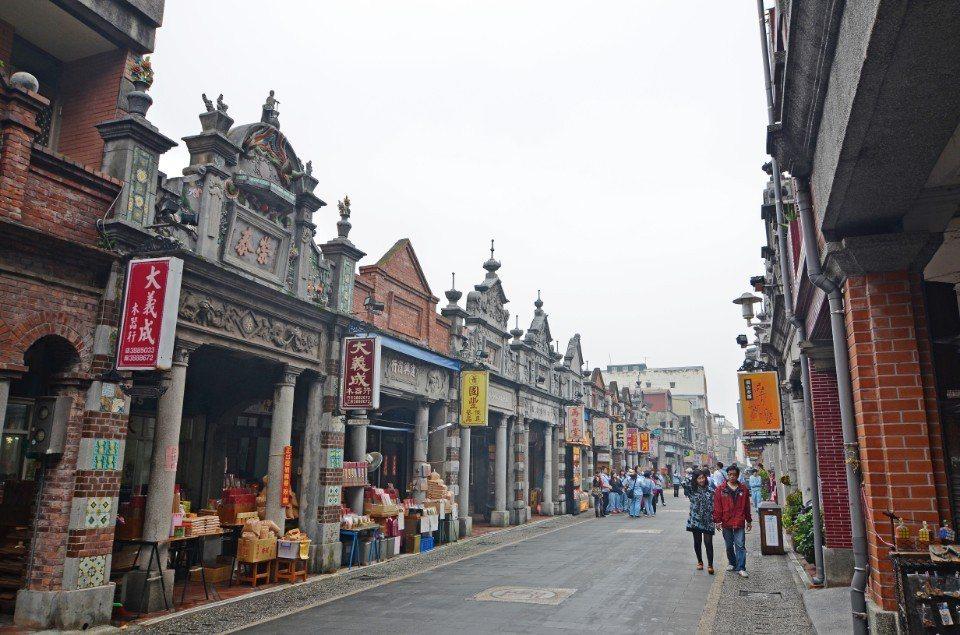 大溪老街。(圖片提供/欣傳媒)